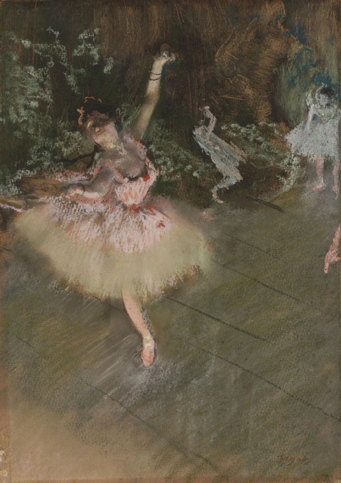 Degas, Edgar: The Star. Fine Art Print/Poster. Sizes: A4/A3/A2/A1 (003770)